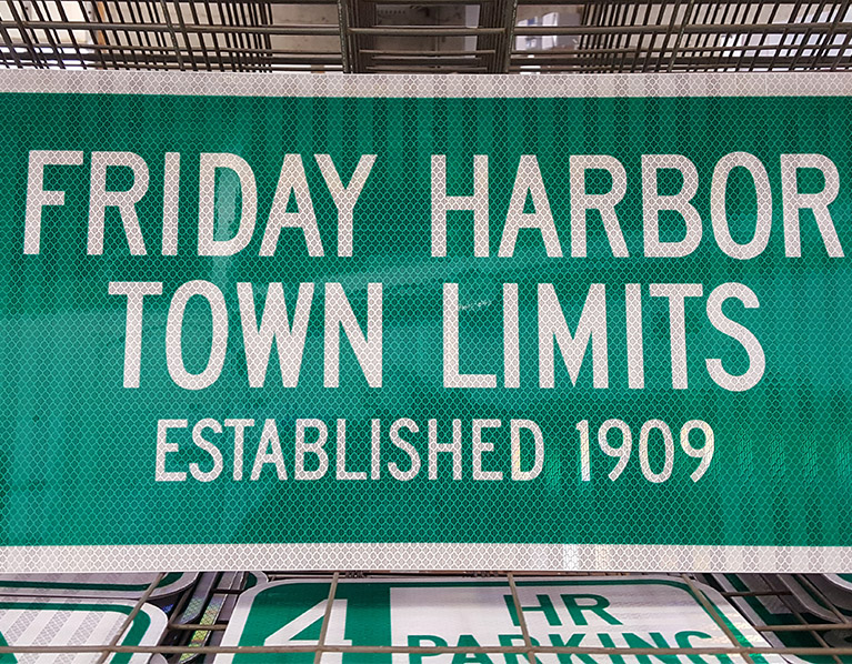 Friday Harbor Town Limits